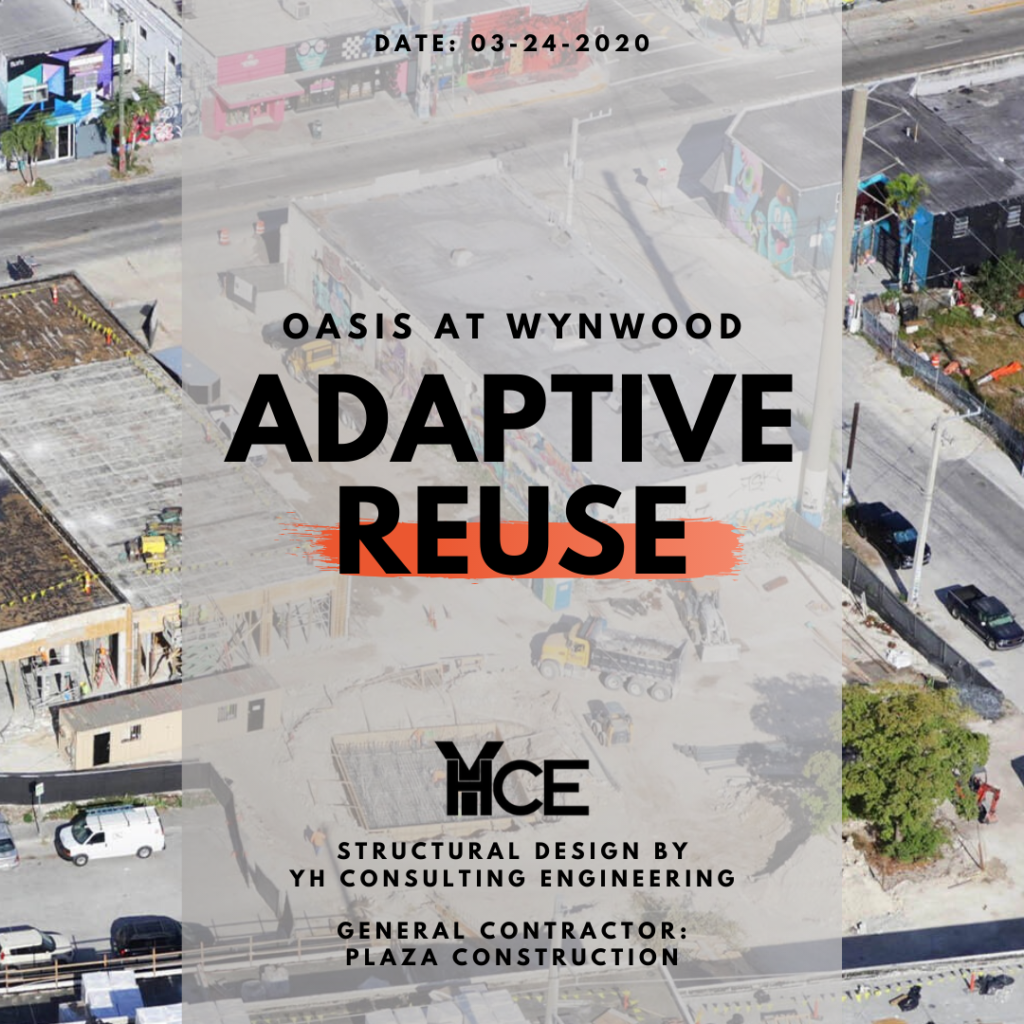 Adaptive reuse projects, The Oasis at Wynwood